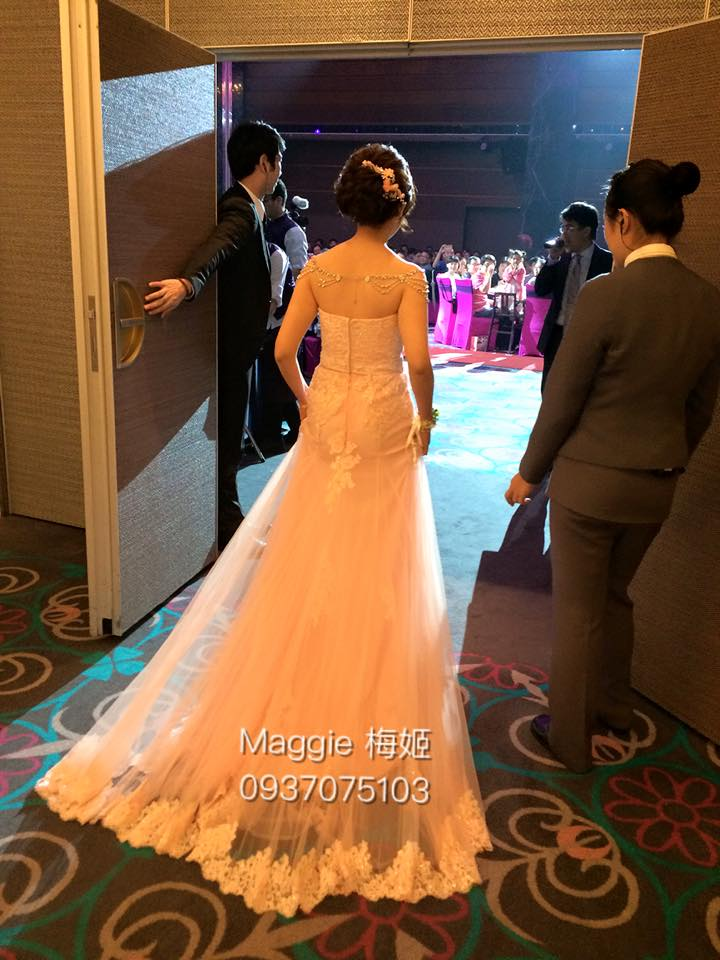 新秘,維多利亞,戶外婚禮,花圈,編髮,冰雪奇緣